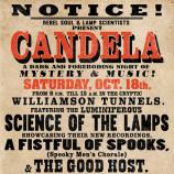 Candela – Saturday 18th October 2014