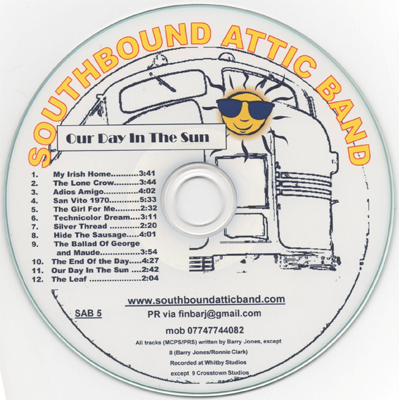 southbound attic band our day in the sun