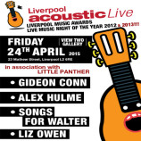 Preview: Liverpool Acoustic Live – Friday 24th April 2015