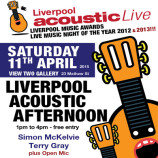 Preview: Liverpool Acoustic Afternoon – Saturday 11th April 2015