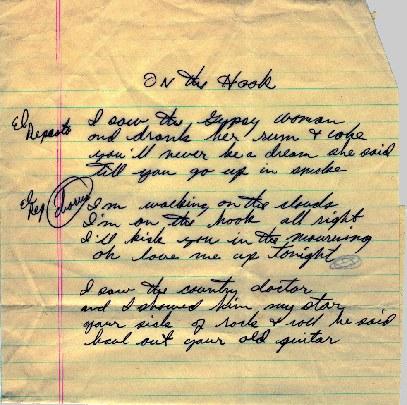 On The Hook lyrics