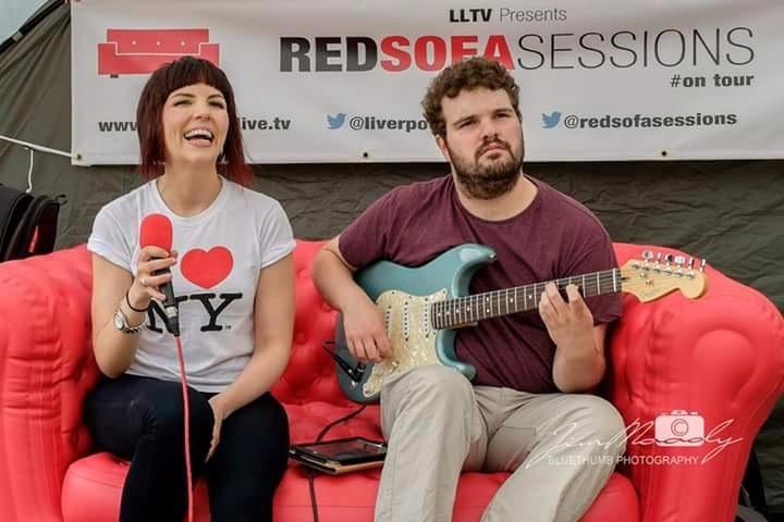 jen bosic red sofa sessions