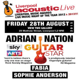Preview: Liverpool Acoustic Live – Friday 28th August 2015