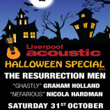 Preview: Liverpool Acoustic Halloween Special – Saturday 31st October 2015