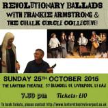 Preview: Revolutionary Ballads @ Lantern Liverpool 25/10/15