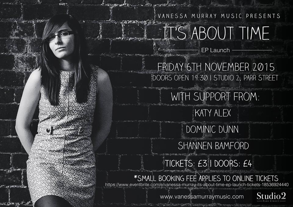 vanessa murray it's about time ep launch