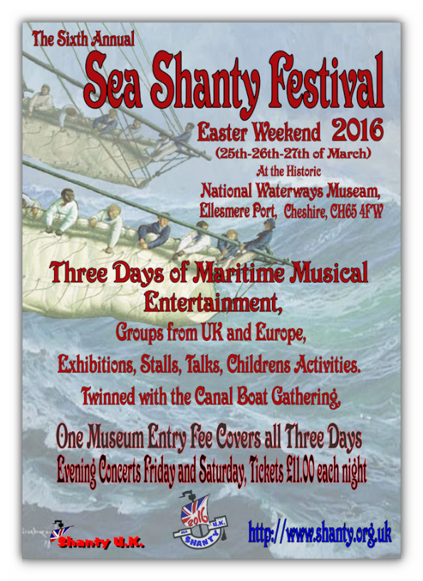 Preview: Sea Shanty Festival - Easter 2016