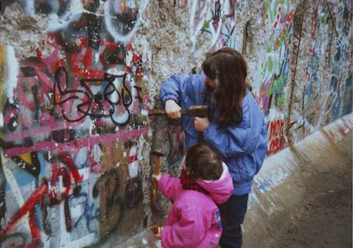 roxanne de bastion berlin wall