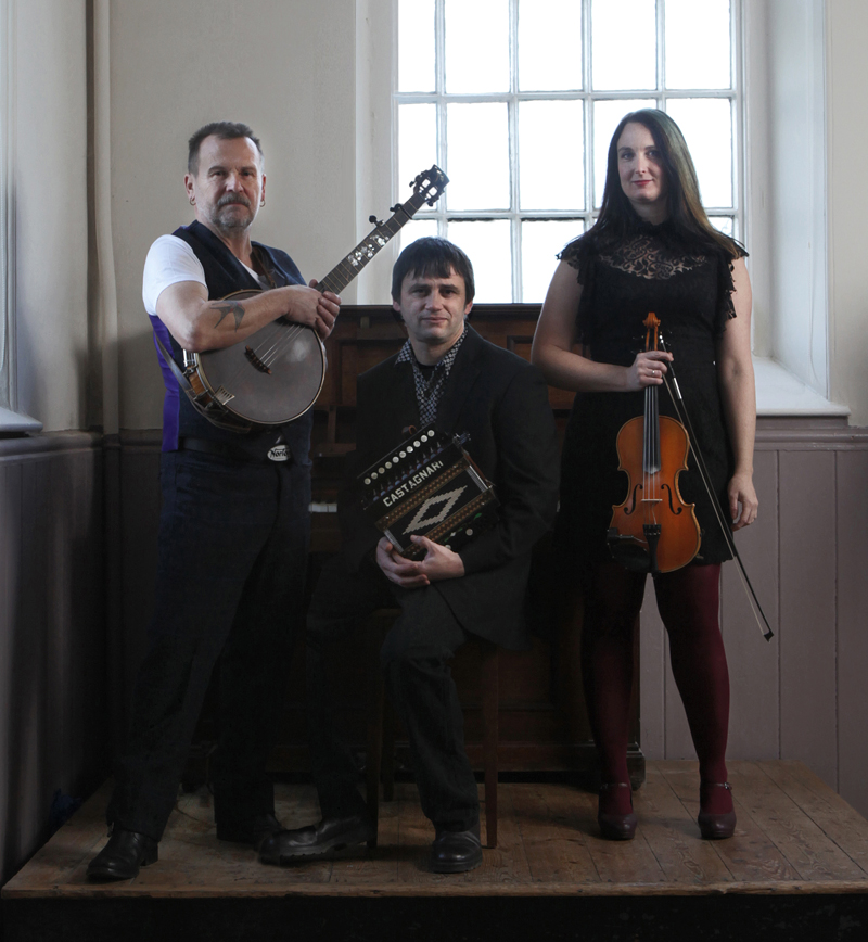 Competition: Martin Simpson, Andy Cutting and Nancy Kerr at The Epstein 08/06/16
