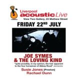Preview: Liverpool Acoustic Live – Friday 22nd July 2016