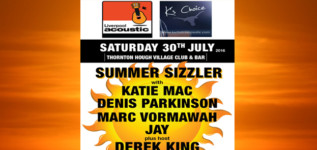 Preview: Summer Sizzler – Saturday 30th July 2016