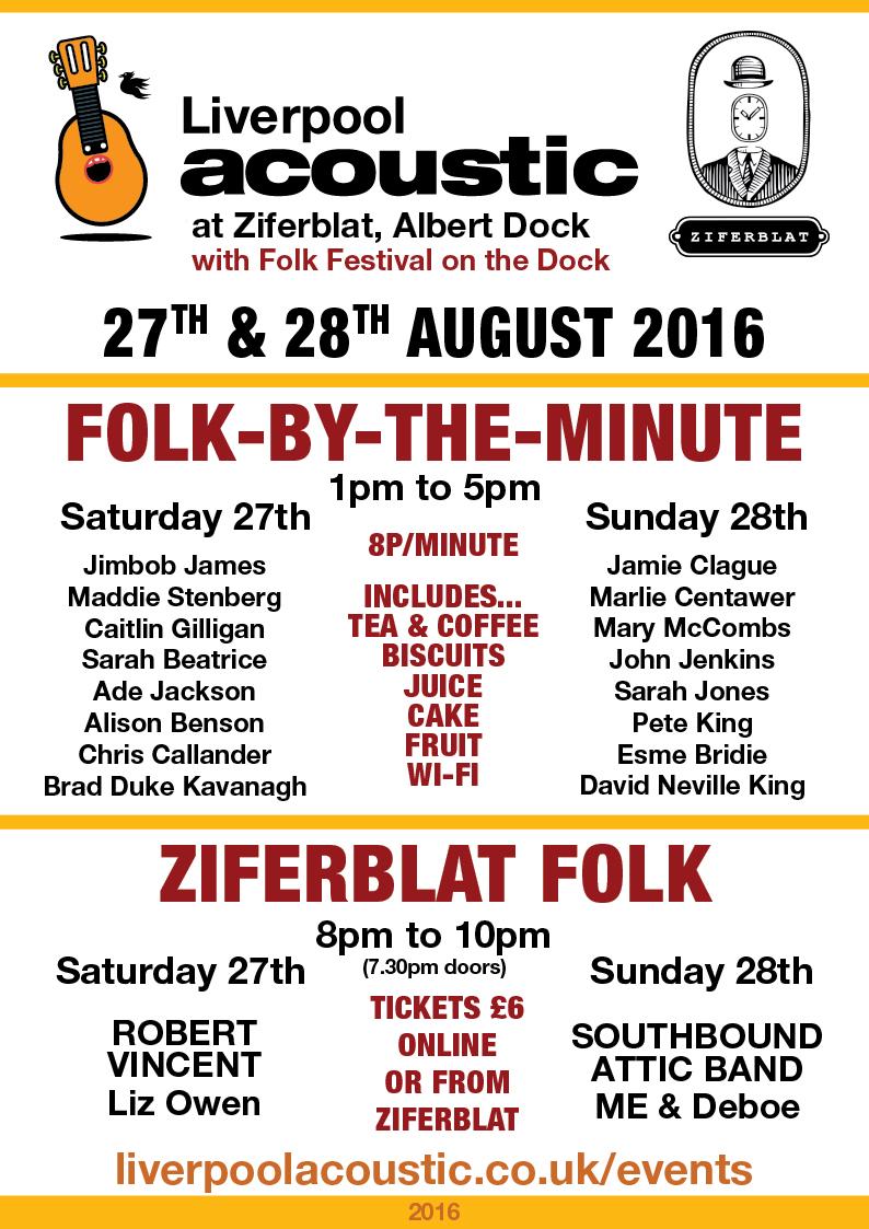 folk by the minute folk festival on the dock