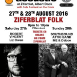 Preview: Ziferblat Folk @ Folk Festival on the Dock – 27th & 28th September 2016
