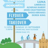Liverpool Acoustic at the Flyover Takeover 25/09/16