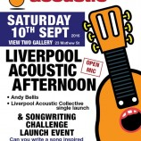 Preview: Liverpool Acoustic Afternoon & charity single launch – Saturday 10th September 2016