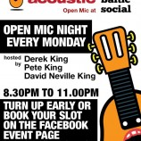 Liverpool Acoustic open mic @ The Baltic Social 07/11/16