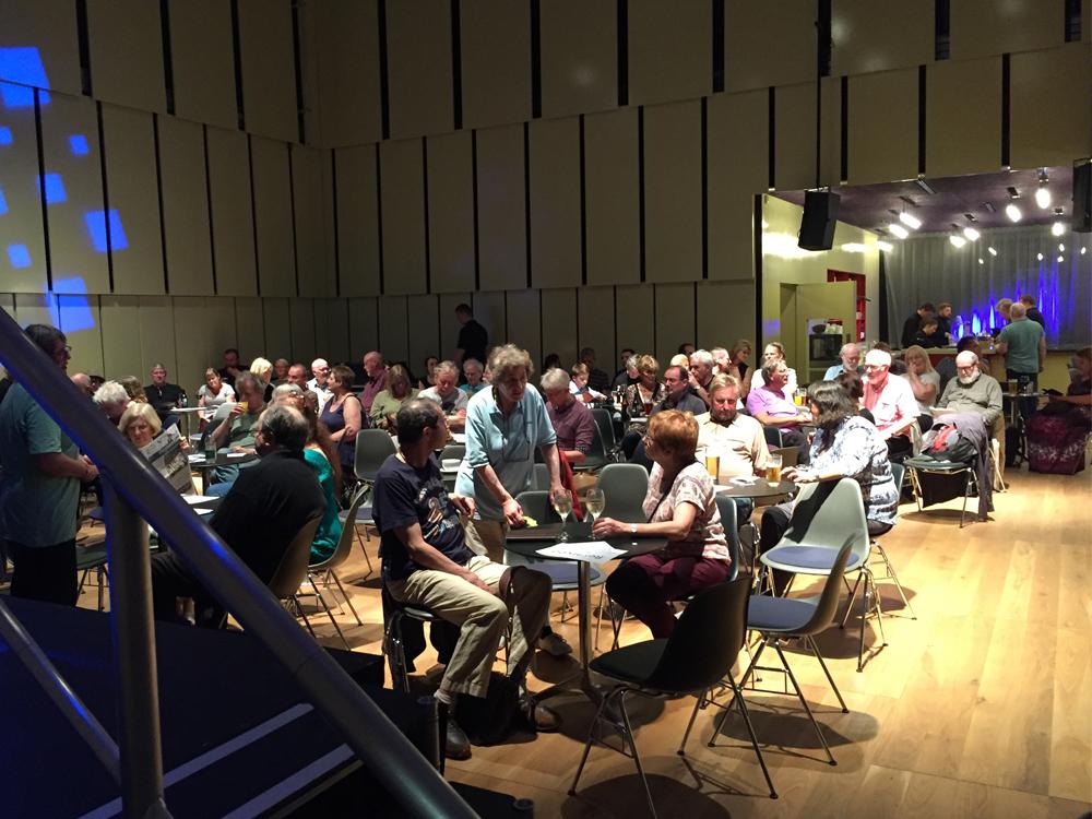 music room audience