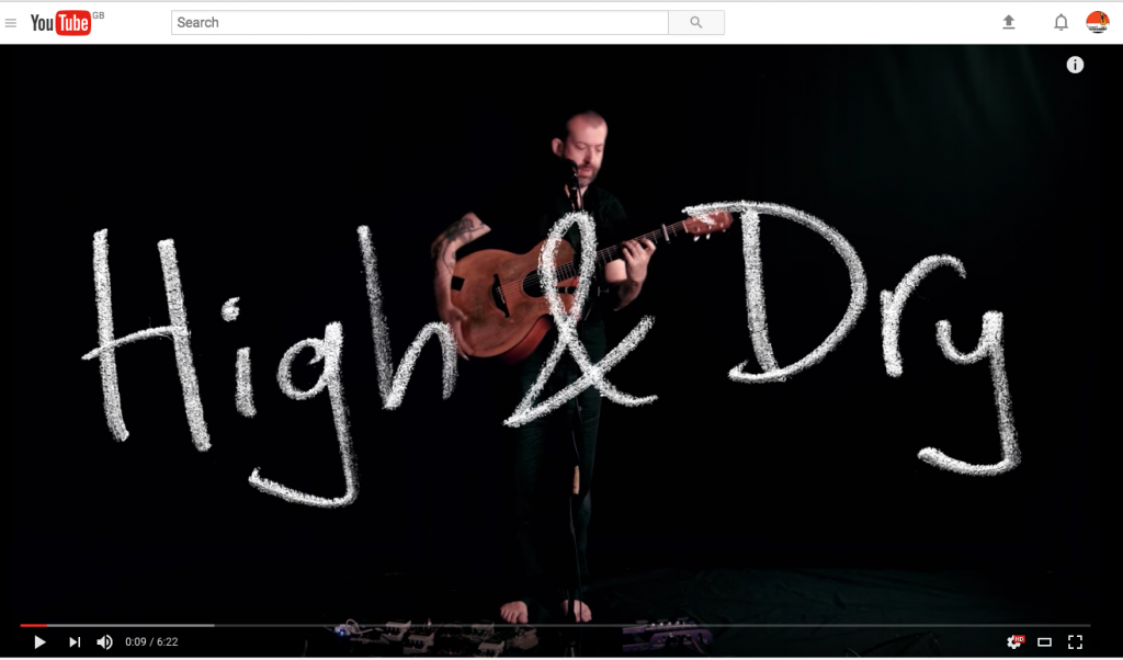 jon gomm high and dry