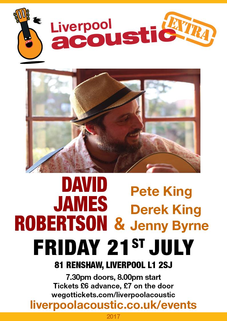 Preview: David James Robertson @ 81 Renshaw 21/07/17