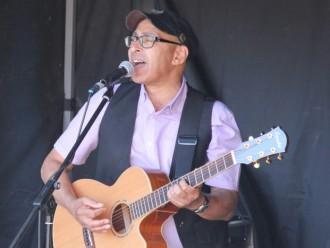 Live review: Marc Vormawah @ Folk on the Dock 26/08/17
