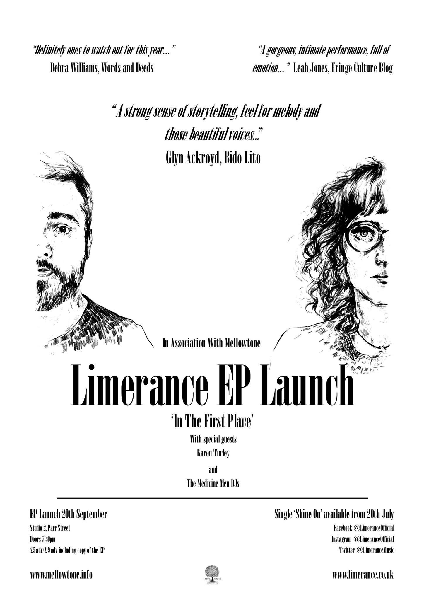 limerance ep launch poster