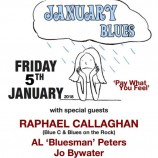 Preview: Beat the January Blues with Raphael Callaghan and friends @ 81 Renshaw 05/01/18