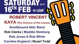 Join us for Liverpool Acoustic Live's Big 10th Birthday Bash this Saturday at Leaf